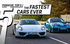 Кто из Porsche всех быстрее? ВИДЕО