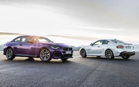 Купе BMW 2-Series сменило поколение