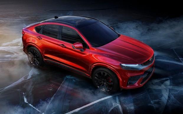 Купе-кроссовер Geely. Китайцы готовят к премьере «родственника» Volvo XC40