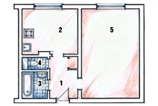 Квартиры в Киеве стоят от $55,5 тыс.