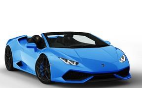 Lamborghini представит открытую версию Huracan