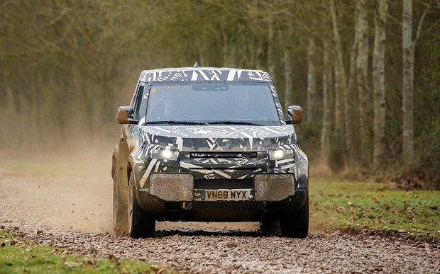 Land Rover Defender. Совсем скоро.