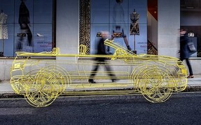 Land Rover намекает на новый кабриолет Evoque