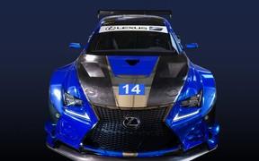 Lexus показал свой новый болид для гонок серии GT3
