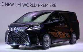 Lexus представил первый минивэн в своей истории.