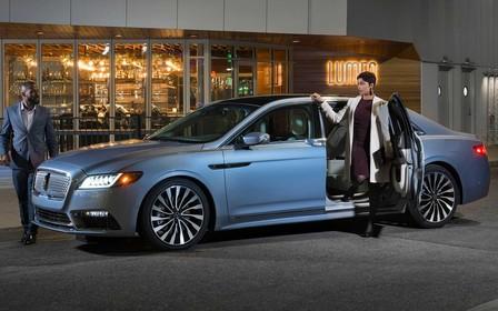 Lincoln Continental получил «суицидальные» двери