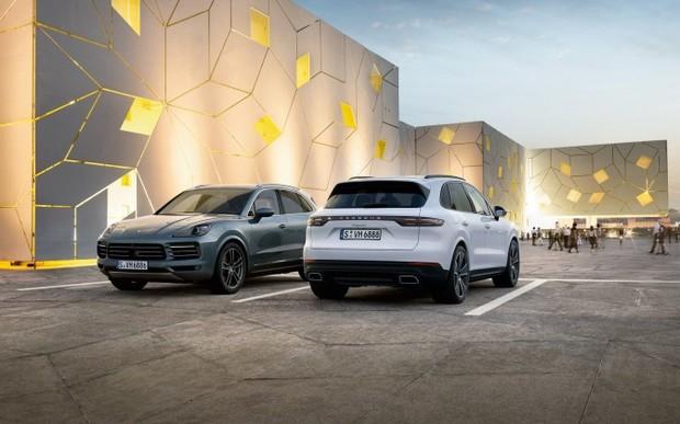 Лізингова програма для Porsche Cayenne 2018 року виробництва.