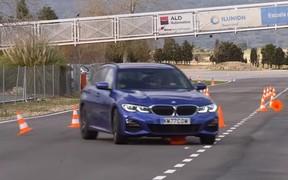 Лось в порядке! Новый BMW 3-Series прошел тест на управляемость. ВИДЕО