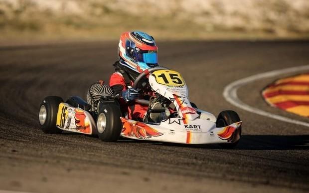 Лука Федоренко за крок до подіуму на  Чемпіонаті Іспанії з картингу