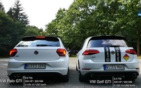 Люби ушами: звук выхлопа Polo GTI сравнили с Golf GTI