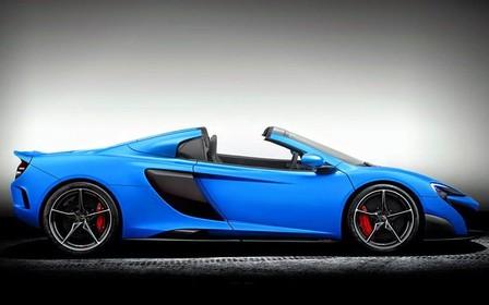 McLaren выпустит открытую версию суперкара 675LT