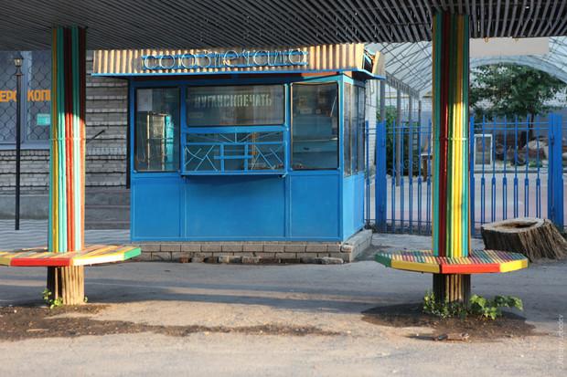 Мэр Федосии назвал старые киоски города «избушками на курьих ножках»