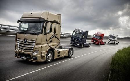 Mercedes-Benz Actros стал самым продаваемым грузовиком Украины  в 2017 году
