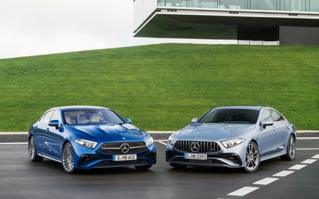 Mercedes-Benz CLS отримав український цінник. Потягнемо?