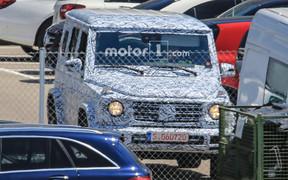 Mercedes-Benz G-Class нового поколения вышел на тесты