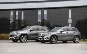 Mercedes-Benz GLE 350 de 4Matic и GLC 300 e 4Matic