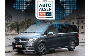 Mercedes-Benz отримав усі нагороди премії «Авто Лідер 2020» в категорії венів