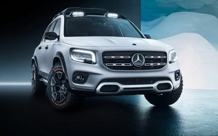 Mercedes-Benz показал новый кроссовер GLB под видом концепта. ВИДЕО