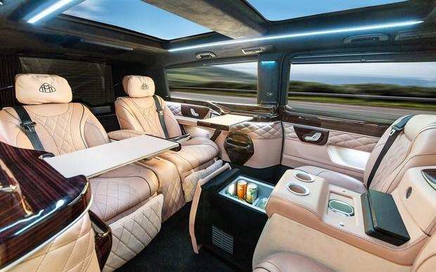Mercedes-Benz V-Class переделали в Maybach