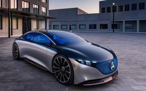 Mercedes-Benz Vision EQS:  намек на электрический S-Class.