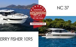 «Merry Fisher 1095 и NC 37 номинированы на премию European Power Boat of the Year 2019»