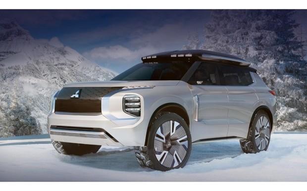 Mitsubishi Engelberg Tourer змалював новий Outlander