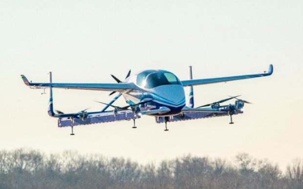 Мне бы в небо. Boeing испытал электрическое летающее такси. ВИДЕО