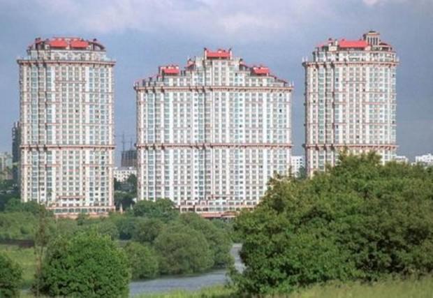 Московские новостройки подорожали до $15,7 тыс. за кв. м