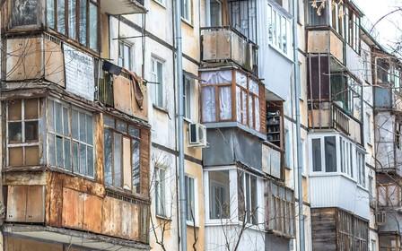 На каждого жителя Харьковской области приходится однокомнатная «хрущевка»