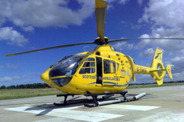 На Парковой дороге строят вертолетную площадку