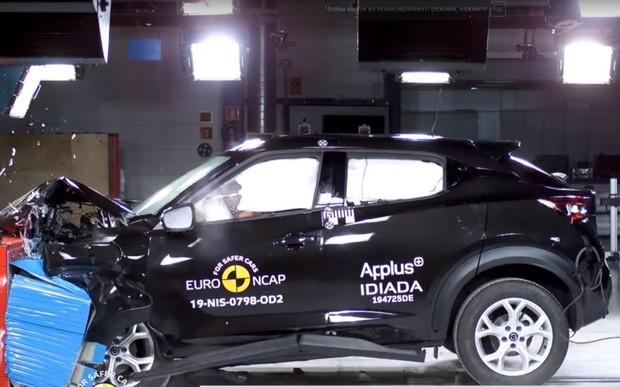 На счастье! Новый Nissan Juke прошел краш-тесты. ВИДЕО