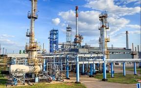 На Шебелинском нефтеперерабатывающем заводе произошел пожар