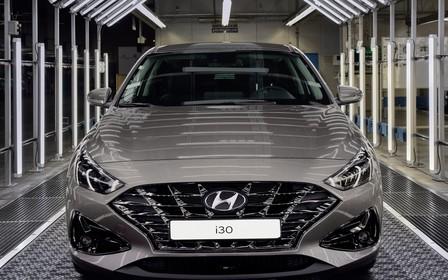 На заводі Hyundai в Чехії починається виробництво оновленої моделі I30