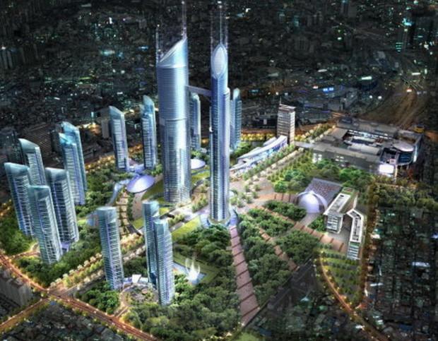 Началось строительство второго по высоте здания в мире