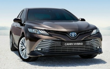 Начат прием предварительных заказов на Toyota Camry Hybrid