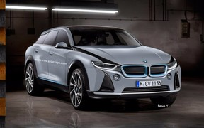 Начнут с iX3: BMW анонсирует линейку электрических кроссоверов iX