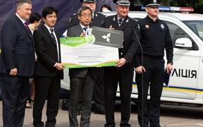 Національна поліція України отримала 83 нових Mitsubishi Outlander PHEV