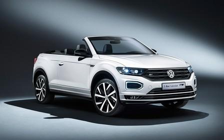Напекло? Кроссовер Volkswagen T-Roc превратили в кабриолет