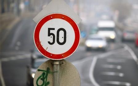 Не больше 50 км/ч. В Киев возвращаются зимние ограничения.
