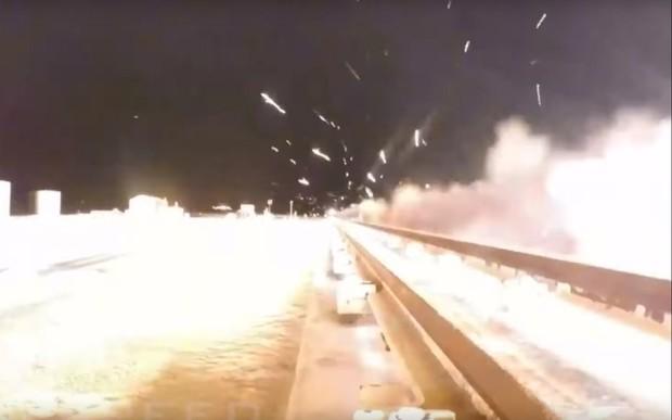 Не моргни! Ультразвуковые сани разогнали до 10 620 км/час. ВИДЕО