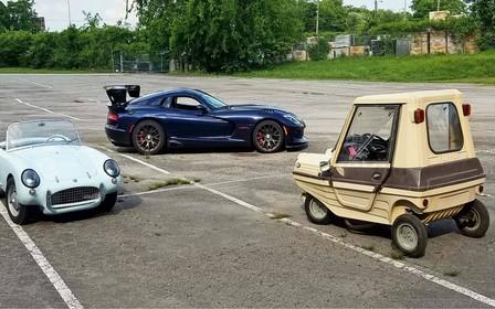 Не только монстры. Микроавтомобили на фестивале OldCarLand