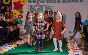 Неделя детской моды, сезон лето.