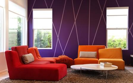 Необычное окрашивание стен: 6 способов пошагово