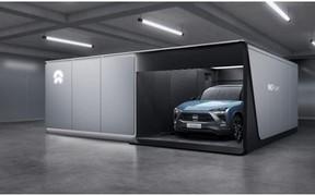 «Nio побудував перший маршрут зі станціями по заміні батарей»