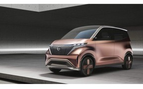 Nissan IMk. Концепт городского электромобиля