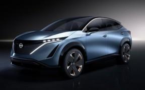 Nissan представив на CES концепт-кар Ariya