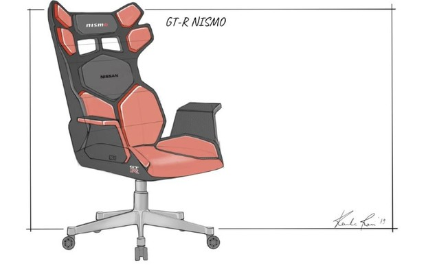Nissan представив своє бачення «геймерських» крісел