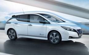 Nissan расширяет предложение на бестселлер Leaf в Европе за счет новых модификаций и улучшенных технологий