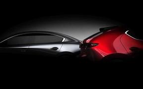 Новая Mazda3 на подходе. Первые изображения