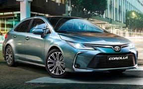 «Новая Toyota Corolla. Открыт прием предварительных заказов.»